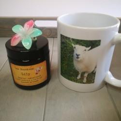 Bougie/mug Lily
