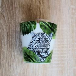 bougie leopard Muguet
