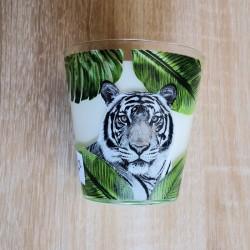 bougie tigre santal