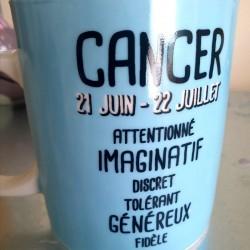 Bougie zodiaque cancer tiaré
