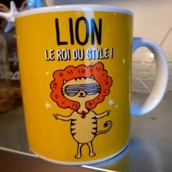 Bougie zodiaque Lion tiaré