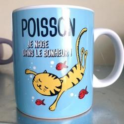 Bougie zodiaque Poisson tiaré