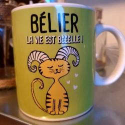 Bougie zodiaque Bélier tiaré