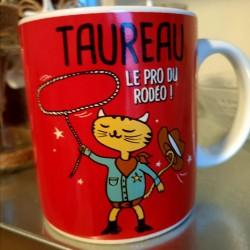 Bougie zodiaque Taureau tiaré